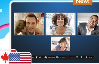 Skype baja costo de llamadas en un 50% en EUA/Canadá