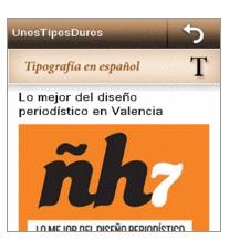 Nokia: Aplicacion web para tipografías
