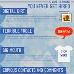 ¿Cómo las compañías usan la social media para contratar y despedir empleados? #Facebook #Infografía