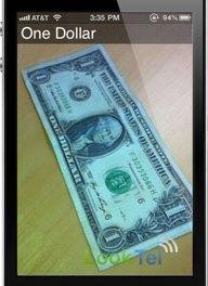 LookTel: Lector de dólares-billetes en tu smartphone