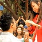 Le propone casamiento con un Flash Mob de esos que se recuerdan por siempre