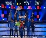 La música de Super Mario ejecutada a capella por un coro. Brillante!