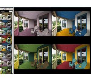 Color Style Studio: Software para colorear virtualmente las paredes de tu casa