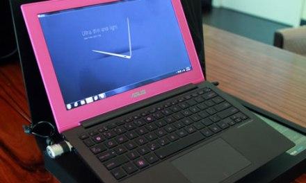 ASUS nos muestra su ultrabook Zenbook UX31 con colores especiales