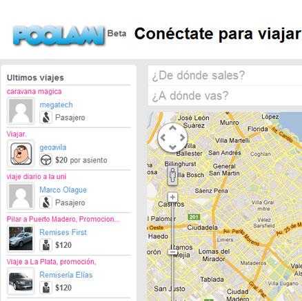 Poolami.com  Te ayuda a compartir los gastos de viaje