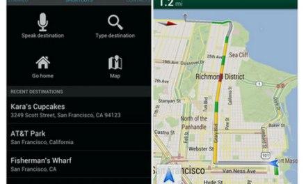 Actualización de Google Maps 6.5 para Android