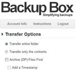 Backup Box, mover carpetas, ficheros entre servicios de la nube y usar ftp en Dropbox