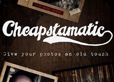 Cheapstamatic: Dale a tus fotos, un toque antigüo