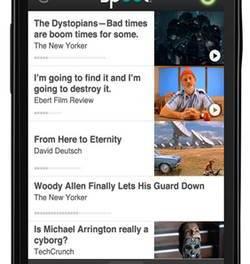 Spool, permite guardar imágenes, vídeos y textos para verlos luego en tu móvil