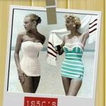 La historia de los trajes de baño para mujeres