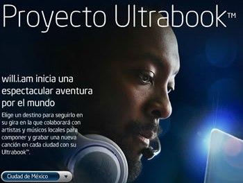 Ultrabook Project: de la mano will.i.am, el líder de los Black Eyed Peas, Director de Innovación Creativa de Intel