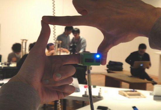 Nueva tecnología que utiliza una pequeña cámara te permite tomar fotografías con tus dedos