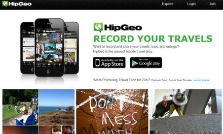 HipGeo, blog y diario social de viajes #iOS #Android
