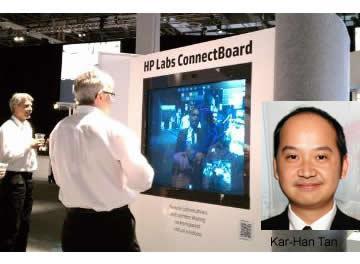#HPDiscover ConnectBoard para videoconferencias y trabajo colaborativo en empresas