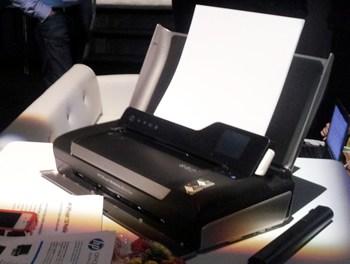 #HPDiscover: Impresora portátil todo en uno HP OfficeJet 150