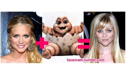 Facemath, cuando una celebridad nace de la unión de otras dos #Humor