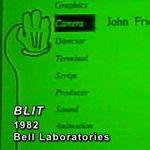 Historia: Blit fue una de las primeras interfaces gráficas de usuario conectadas a un sistema Unix #Vídeo