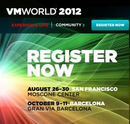 VMworld 2012 San Francisco: Conferencia sobre virtualización y computación en la nube
