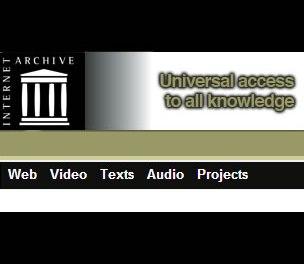 Archive.org, todo lo subido a internet desde 1996: +de 1 millón videos,Música, Audio