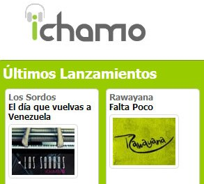 ichamo.com : Para comprar música legal en Venezuela