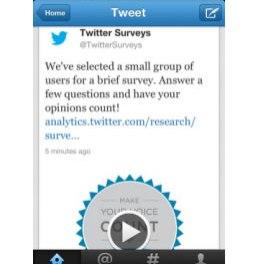 Twitter Survey , una alianza con Nielsen para medir impacto de Twitter
