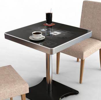 #CES2013 Una mesa especial, que hasta te cobra el almuerzo