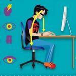 10 recomendaciones para combatir los problemas de salud derivados de trabajar con ordenadores