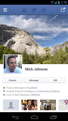 facebook-android-profile