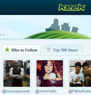 Keek: Una forma fácil de compartir videos cortos en redes sociales