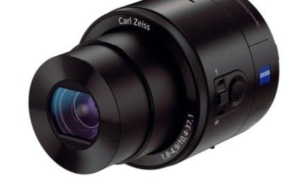 Los lentes para smartphones de Sony QX series, premiados en #CES2014