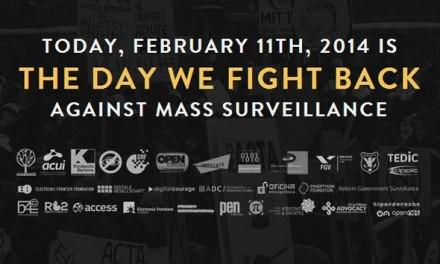 Jornada global de lucha contra la vigilancia masiva y sin control #TheDayWeFightBack