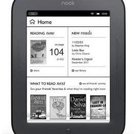 Las ventas de Nook, lector de ebooks, caen 66% y despiden personal