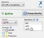 Complemento para Firefox que permite cambiar la dirección IP y así navegar en forma anónima