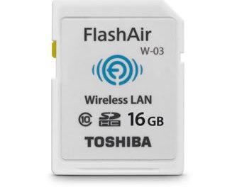 Toshiba FlashAir III , tarjeta de memoria con WiFi