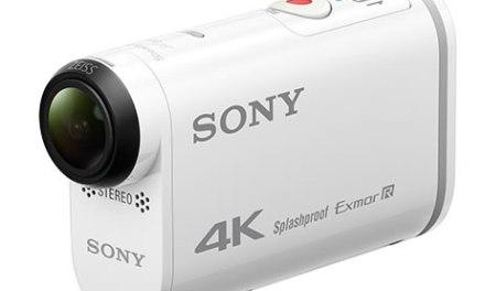 Sony compite en el rubro cámaras deportivas con sus Action Cam 4K