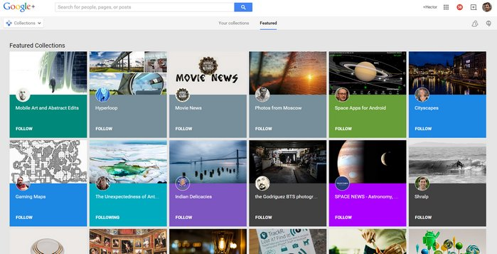 google-featured-collections