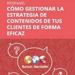 Webinar gratuito: Cómo gestionar la estrategia de contenidos de tus clientes de forma eficaz