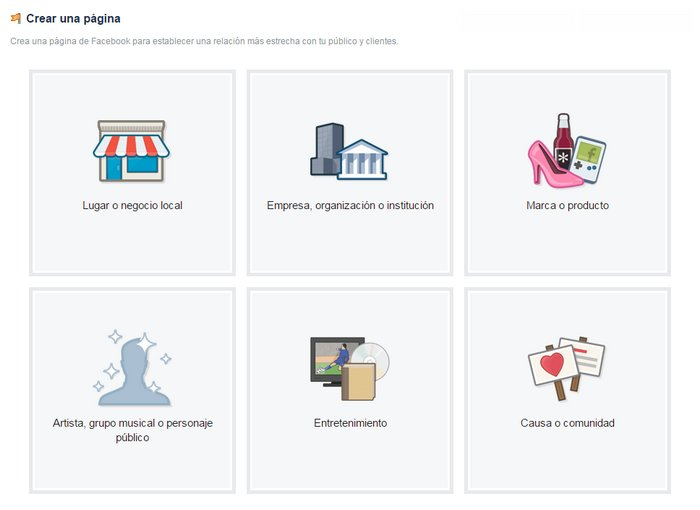 facebook-crear-página