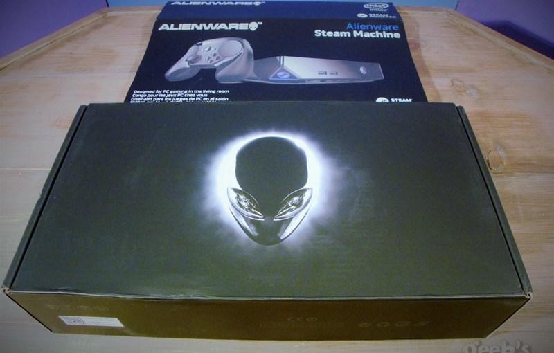 alienware steam machine unboxing