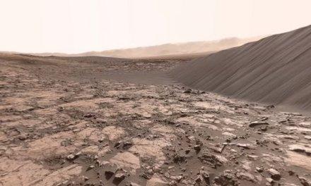 NASA publica un vídeo de 360º espectacular capturado desde el rover Curiosity en Marte