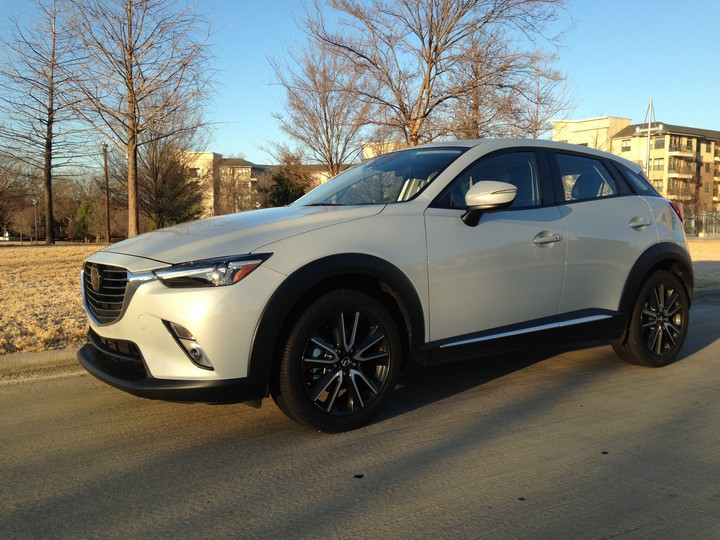 Review: Mazda CX-3 Grand Touring 2016, un crossover ágil y divertido de manejar #MazdaCX3