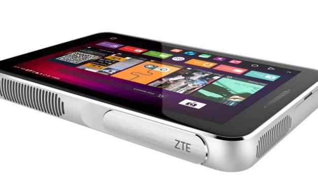 ZTE introduce Spro Plus, un proyector inteligente portable que trabaja como tableta #MWC2016