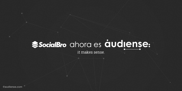 La plataforma de social marketing SocialBro cambia su marca ahora es Audiense