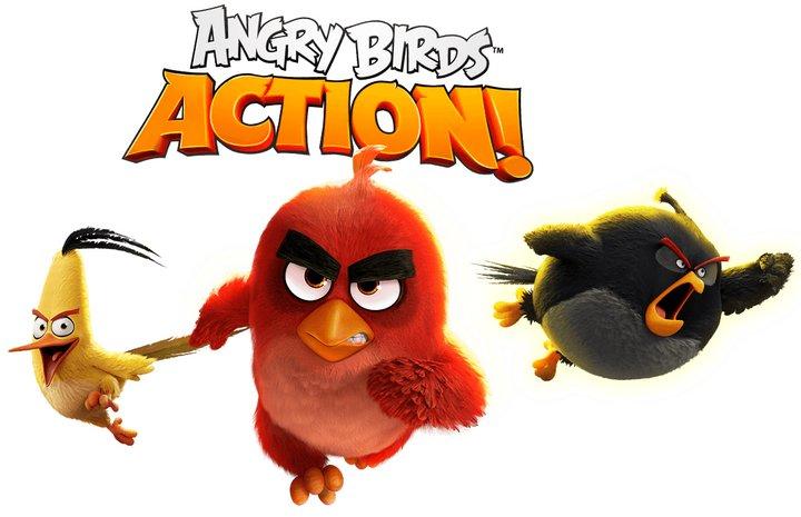Angry Birds Action! nuevo juego gratis de Rovio con códigos QR para desbloquear juegos y ganar recompensas