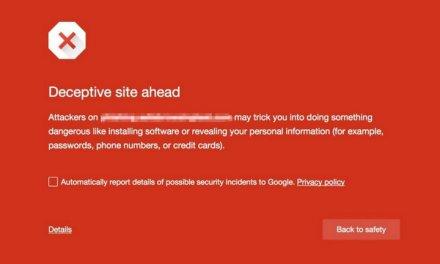 Google expande Safe Browsing para proteger al usuario sobre posibles ataques de ingeniería social