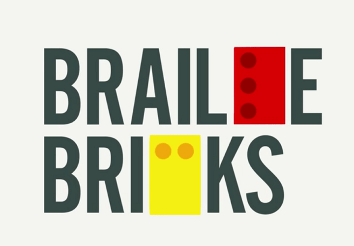 Braille Bricks, bloques similares a LEGO para enseñar a leer a niños ciegos