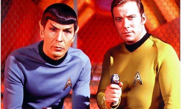 Las figuras de Mr Spock y el Capitán Kirk muy pronto como altavoces bluetooth