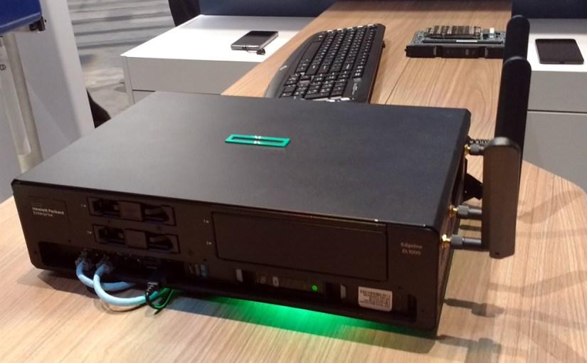HPE Edgeline EL1000 o 4000 para poder procesar la Internet de las Cosas