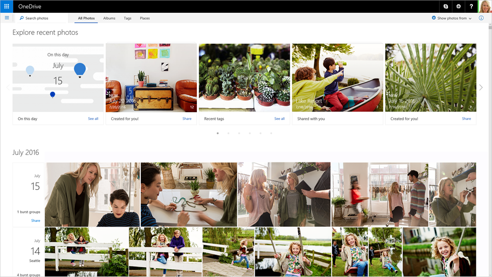 OneDrive-automatic-albums