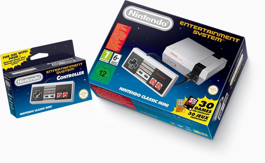 Nintendo anuncia una mini réplica de la original NES con 30 juegos clásicos a solo 60 dólares